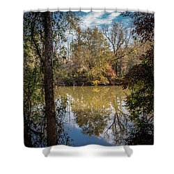 Mirror River Shower Curtain
