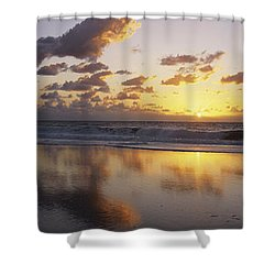 Mirrored Mexico Sunset Shower Curtain by Bill Schildge - Printscapes