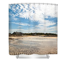 Mirrored Ripples Shower Curtain by Michelle Wiarda