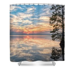Mirrored Shower Curtain