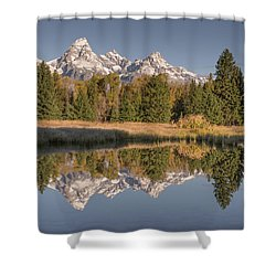 Mirrororrim Shower Curtain