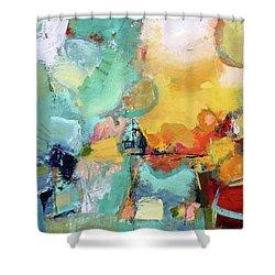 Mishmash Shower Curtain by Elizabeth Chapman