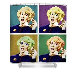 Miss Babs, Acorn Antiques Shower Curtain