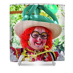 Miss Dilly Dally Shower Curtain