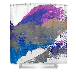 Miss Emma's Abstract Shower Curtain