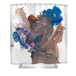 Miss Emma's Flowers Shower Curtain