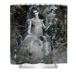 Miss. Havisham Shower Curtain by Mary Hood