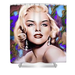 Miss Monroe Shower Curtain