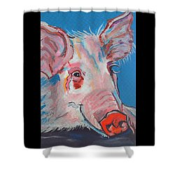 Miss Piggy Shower Curtain