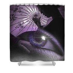 Miss Saigon Shower Curtain by ISAW Gallery