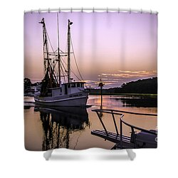 Miss Sandra Gail Shower Curtain by David Smith