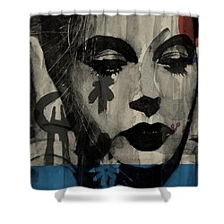 Miss Sarajevo  Shower Curtain