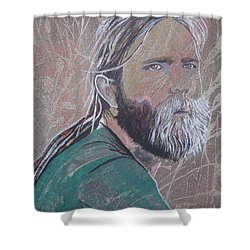 Missing Brent Shower Curtain by Stuart Engel