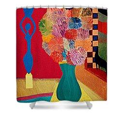 Missing Henri Shower Curtain by Bill OConnor