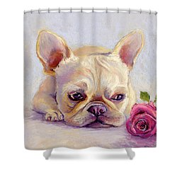 Missing You Shower Curtain by Susan Jenkins