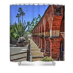 Mission Arches Shower Curtain