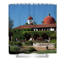 Mission Basilica Shower Curtain