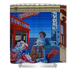 @mission District Sf Shower Curtain