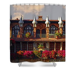 Mission Inn - Riverside Shower Curtain
