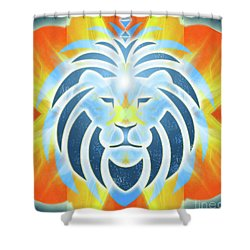 Mission Piece 2b Lions Gate Shower Curtain