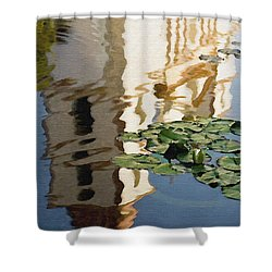 Mission Reflection Shower Curtain by Sharon Foster