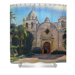 Mission San Carlos In Carmel By The Sea Shower Curtain