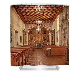 Mission San Francisco De Asis Interior Shower Curtain