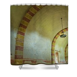 The Granary At Mission San Jose  Shower Curtain