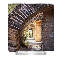 Shower Curtain featuring the photograph Mission San Jose by Jeanette French