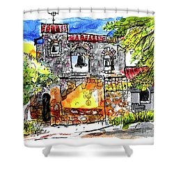 Mission San Miguel Shower Curtain