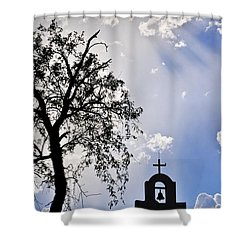 Mission Shower Curtain by Skip Hunt