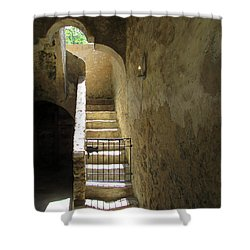 Mission Stairway  Shower Curtain