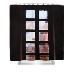 Mission Window Shower Curtain by M Diane Bonaparte