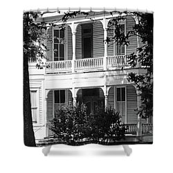 Mississippi Haunted House Shower Curtain