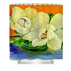 Mississippi Magnolias Shower Curtain