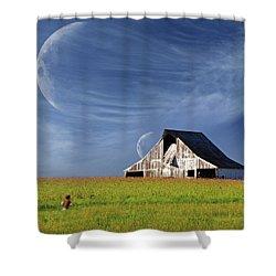 Missouri Hallucination Shower Curtain
