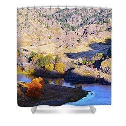 Missouri River Shower Curtain