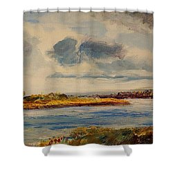 Missouri River Shower Curtain