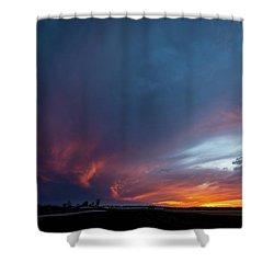 Missouri Sunset Shower Curtain