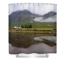 Mist At Lagangarbh Shower Curtain