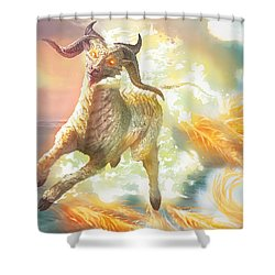 Misthoof Kirin Shower Curtain