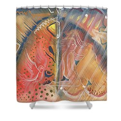 Mistic Cave Shower Curtain