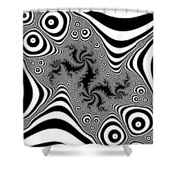 Mistreaded Shower Curtain