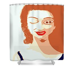 Mistress Of Duality Shower Curtain