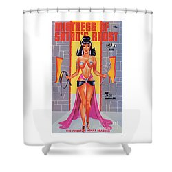 Mistress Of Satan's Roost Shower Curtain
