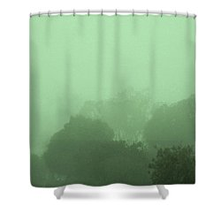 Mists Of Time Shower Curtain by Mark Blauhoefer