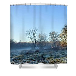Misty Clearing Shower Curtain