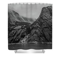 Misty Fjord Shower Curtain