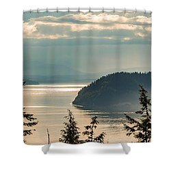 Misty Island Shower Curtain