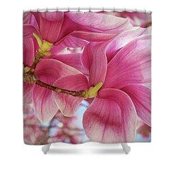 Misty Magnolia Shower Curtain